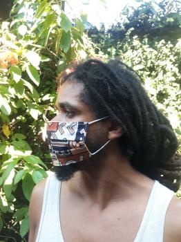 Kit 4 Máscaras de tecido