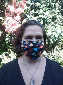 Kit 8 Máscaras de tecido